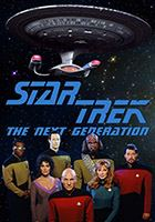 Star Trek: The Next Generation 1987 - 1994 film scènes de nu
