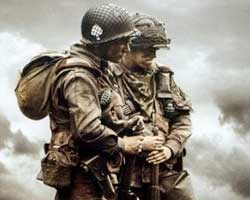 Band of Brothers 2001 film scènes de nu