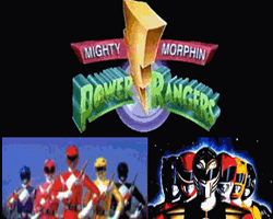 Mighty Morphin Power Rangers 1993 film scènes de nu